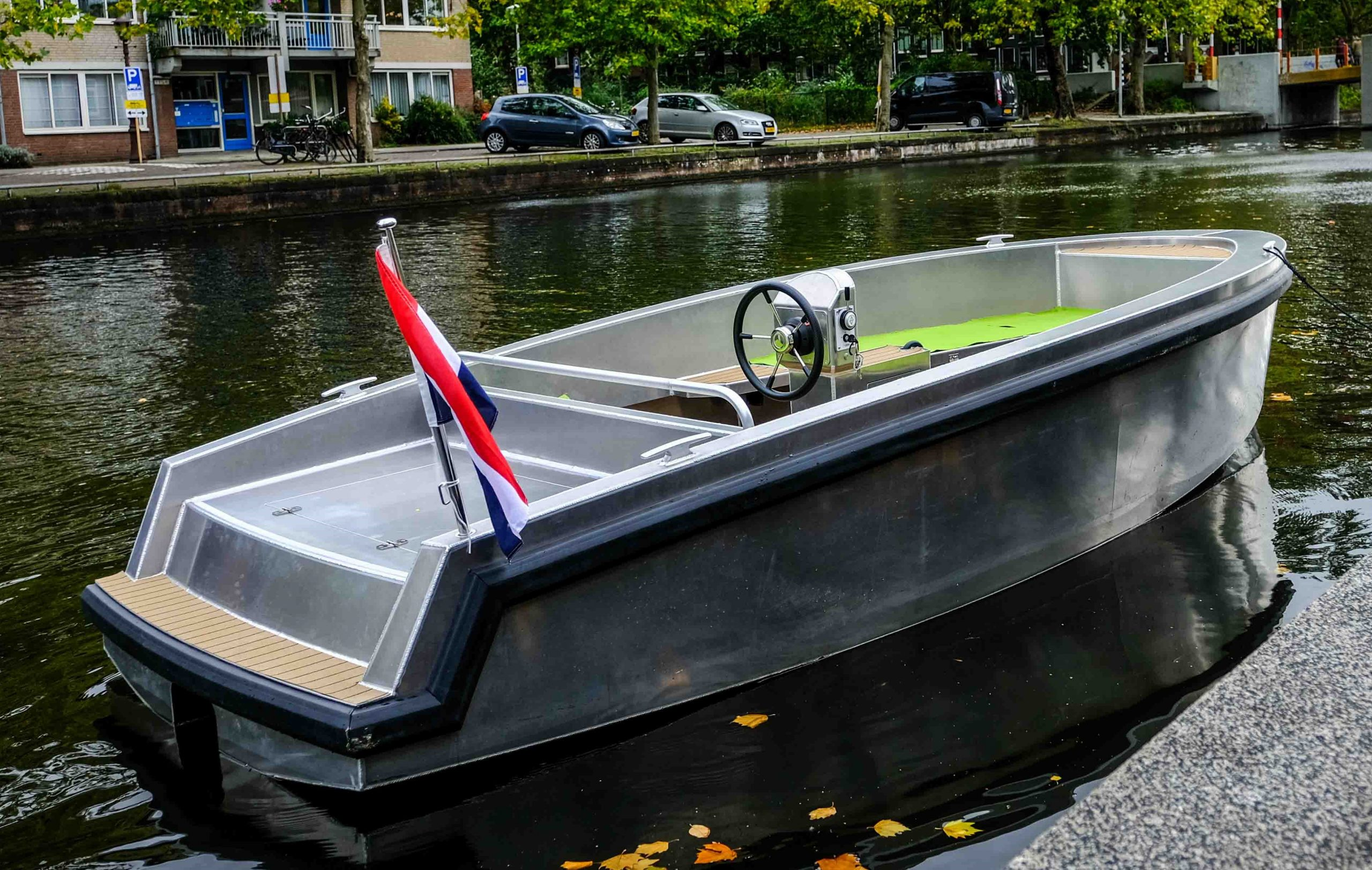 Eagle Tenders: never has a rental boat looked so chic!