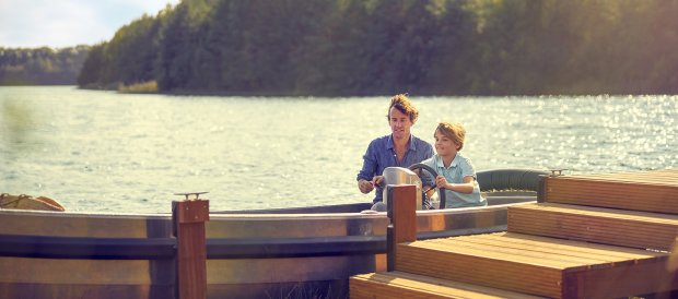 Eagle boats now for rent in Terhills Resort Center Parcs